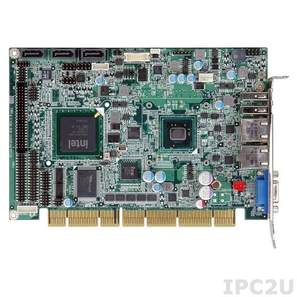 PCISA-PV-D5251-R10 Процессорная плата PCISA Intel ATOM D525 1.8ГГц, до 2Гб DDR3, Dual Gb LAN, 3xSATA, 6xUSB, 4xCOM, разъем CompactFlash