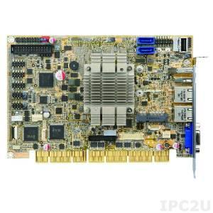 PCISA-BT-E38251-R11 Процессорная плата PCISA Intel Atom E3825 1.33ГГц, VGA, iDP, USB 3.0, USB 2.0, 2xLAN, Mini PCIe, SATA, mSATA, COM, Аудио