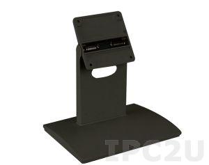 """STAND-C19 Подставка для PPC/мониторов диагональю 15""""...19"""", VESA 100x100мм, 75x75мм, до 15 кг, сталь штампованная, цвет черный"""