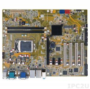 IMBA-H810 Процессорная плата ATX, H81, LGA1150 разъем для Intel Core i7/i5/i3 (Haswell) с DDR3, VGA/DVI-D/iDP, 5xRS-232, 1xRS-422/485, 6xUSB 2.0, 2xUSB 3.0, 2xGbit LAN, 2xSATA II, 2xSATA III, HD Аудио, 1xPCIe x16, 2xPCIe x1, 4xPCI, 1xPCIe Mini