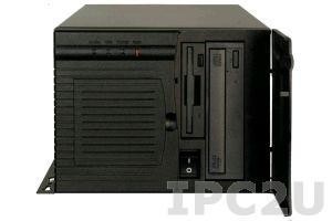 """PAC-1000GB-R20/A130B Корпус для 6 слотовой объединительной платы, отсеки 1x5.25""""/2x3.5"""", источник питания ACE-A130B-RS 300Вт ATX, RoHS"""