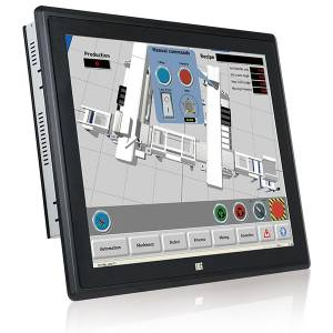 "PPC-F19B-BTi-J1/2G/R-R10 Безвентиляторная панельная рабочая станция с 19"" XGA, резистивный сенсорный экран, Intel Celeron J1900 2.0ГГц, 2Гб DDR3L, 1x2.5"" HDD/SSD, 2xUSB 3.0, 2xUSB 2.0, 3xCOM, VGA, 2xGbE LAN, 2xPCIe mini, Аудио, адаптер питания 9-36В DC"