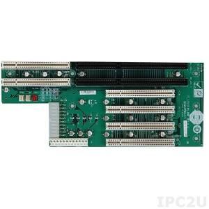 PCI-5S2A-RS Объединительная плата PICMG 5 слотов с 2xPICMG/4xPCI, RoHS, ATX