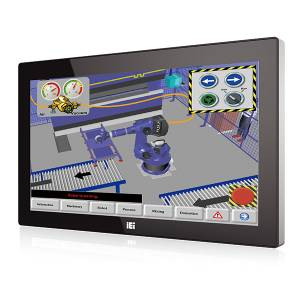 "AFL3-W19C-ULT3-C/PC/4G Панельная рабочая станция с 18.5"" TFT LCD, емкостный сенсорный экран, Intel Celeron-3955U 2.00ГГц, 1х4Гб DDR4, 2.5"" SATA HDD отсек, M.2, 2xCOM, 4xUSB 3.0, 2xGbE LAN, HDMI, камера 2МП, Wi-Fi, Аудио, питание 9-30В DC"