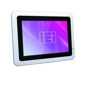 "IOVU-10F-AD-WB-ET-R10 Безвентиляторный панельный компьютер 10.1"" TFT LCD, емкостный сенсорный экран, Freescale i.MX6 Cortex-A9 1.0ГГц, 1Гб DDR3, 4Гб Nand Flash, 2xUSB, 2xRS-232, 1xGbE LAN, SD слот, Аудио, питание 9-30В DC"