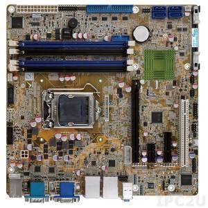 IMB-Q870-i2 Процессорная плата microATX, Intel Core i7/i5/i3/Pentium/Celeron LGA1150, чипсет Intel Q87, 240-pin DDR3 13600/1333МГц, 1xVGA, 1xHDMI, 1xDVI-D, 1xiDP, 6xCOM, 1xPS/2, 12xUSB, 4xSATA 6Gb/s, 1xPCIe x16, 1xPCIe x4, 1xPCIe x1, 1xPCI, LAN, Audio