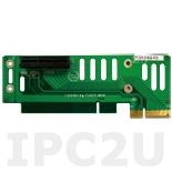 PCIER-101H Объединительная Riser плата 1xPCIex1 для PPC-51xxA серий и WIDS-51xA серий, 3.3В и 12В