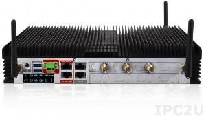 "HDCS-7003-S/SC/LF64 Встраиваемый безвентиляторный компьютер для видео наблюдения, Intel QM67 чипсет, процессор Intel Core i7, 2Гб DDR3, 2.5"" 500Гб HDD, установлено 3 карты видео захвата (SDI), Linux Fedora 64-bit"