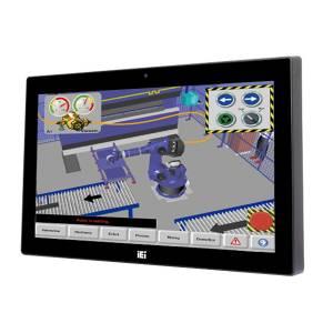 "AFL3-W15C-ULT3-C/R/4G Панельная рабочая станция с 15.6"" TFT LCD, резистивный сенсорный экран, Intel Celeron-3955U 2.00ГГц, 1х4Гб DDR4, 2.5"" SATA HDD отсек, M.2, 2xCOM, 4xUSB 3.0, 2xGbE LAN, HDMI, камера 2МП, Wi-Fi, Аудио, питание 9-30В DC"