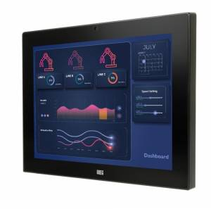 "AFL3-12A-AL-J2/P/PC/4G Панельная рабочая станция с 12.1"" TFT LCD,пр.-емкостный сенсорный экран, Intel Celeron-J3455 1.5ГГц, 1х4Гб DDR4, 2.5"" SATA HDD отсек, M.2, 2xCOM, 4xUSB, 2xGbE LAN, HDMI, камера 2МП, Wi-Fi, питание 9-30В DC"
