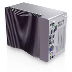 """TANK-870e-H110-i5/4G/3A Fanless Embedded System, Intel Core i5-6500TE 2.3GHz CPU, Intel H110 Chipset, 4GB DDR4 RAM, VGA/HDMI, 2xGb LAN, 2xCOM, 4xUSB 3.0, 1x2.5"""" SATA HDD/SDD bays, Audio, 2x PCI and 1 x PCIe, 9...36V DC-IN, -20...60C"""