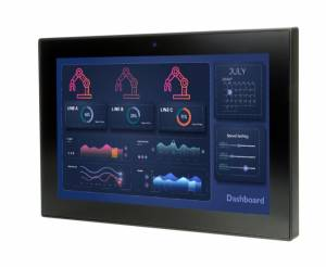 "AFL3-W10A-AL-J2/P/PC/4G Панельная рабочая станция с 10.1"" TFT LCD,пр.-емкостный сенсорный экран, Intel Celeron-J3455 1.5ГГц, 1х4Гб DDR, M.2, 2xCOM, 4xUSB, 2xGbE LAN, HDMI, камера 2МП, Wi-Fi, питание 9-30В DC"