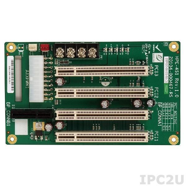 HPE-4S1-R41 Объединительная плата PICOe 4 слота с 1xPICOe, 3xPCI