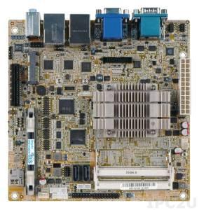 KINO-ABT-i2-N28071 Процессорная плата Mini-ITX, Intel Celeron N2807(4.5Вт), 2x204-pin 1066/1333 DDR3L, VGA, HDMI, 2xCOM, 2xRJ-45, 2xUSB 2.0, 2xUSB 3.0, 1xPCIe x1, 2xSATA 3Gb/s, HD Аудио