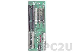 PCI-4S-RS-R40 Объединительная плата PICMG 4 слота с 1xPICMG/1xISA/3xPCI, RoHS