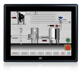 "PPC-F19B-BTi-J1/2G/R Безвентиляторная панельная рабочая станция с 19"" XGA, резистивный сенсорный экран, Intel Celeron J1900 2.0ГГц, 2Гб DDR3L, 1x2.5"" HDD/SSD, 2xUSB 3.0, 2xUSB 2.0, 3xCOM, VGA, 2xGbE LAN, 2xPCIe mini, Аудио, адаптер питания 9-36В DC"