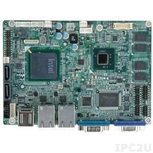 WAFER-PV-N4551-2GB-R12 Процессорная плата с Intel Atom N455 1.66ГГц, 2Гб DDR3, VGA/LVDS, Dual GbE, USB2.0, SATA II, Audio