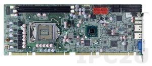 PCIE-H610 Процессорная плата PICMG 1.3, процессоры Intel Core i7/i5/i3/Pentium/CeleronLGA1155, чипсет Intel H61, DDR3 1600/1333МГц, 1xVGA, 2xRS-232, 1xRS-422/485, 1xLPT, 1xFDD, 6xUSb 2.0, 4xUSB 3.0, LAN, 4xSATA, HD Audio