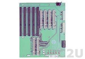 PCI-8S-RS-R40 Объединительная плата PICMG 9 слотов с 1xPICMG/4xISA/4xPCI, RoHS