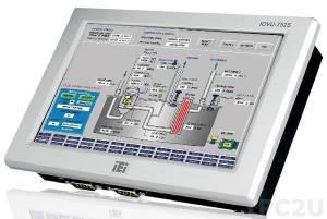 """IOVU-752S-CE6/-R10 Безвентиляторный панельный компьютер с 7"""" WVGA LCD, сенсорный экран, процессор Samsung S3C6410 ARM11 677МГц, 256Мб DDR2, LAN, PoE, 2xCOM, 2xUSB, Audio, WinCE 6.0"""