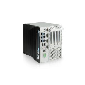 "TANK-880-Q370-i5R/8G/4A Промышленный встраиваемый безвентиляторный ПК с процессором Intel Core i5-9500TE 2.2-3.6ГГц, чипсет Q370, 8Гб DDR4, HDMI/DP, 3xGb LAN, 3xCOM, DIO, 6xUSB 3.2, 4x2.5"" SATA, Audio, 1xPCIe x16, 1xPCIe x1, 2xPCIe x4, 3xM.2, 1x mPCIe, 9...36В DC, -20...60C"