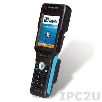 "MODAT-335-AD41-E-R10 Карманный компьютер PDA 3.5"" TFT LCD QVGA с Marvell PXA 310 624МГц, 802.11 b/g Wireless, Bluetooth, UMTS/GSM, GPS, 1D/2D сканер штрих-кода, RFID, 3МП камера, ОС Windows mobile 6.5"