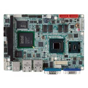 """WAFER-945GSE-N270W Процессорная плата формата 3.5"""" Intel Atom N270 1.6ГГц, VGA/LVDS, Dual GbE, CFII, USB, SATA, RoHS, -20...+70 C"""