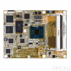 ICE-BT-T6-N28071 Процессорный модуль COM Express Basic Type 6, Intel Celeron N2807 1.58ГГц, VGA, DDI, LVDS, GbE, SATA, USB 3.0, HD Audio, -20..+60C