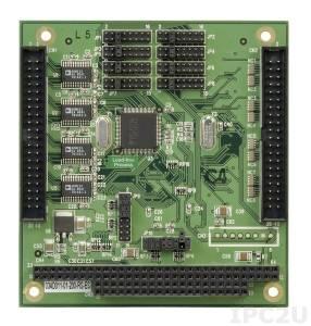 PM-1028-8-R20 PC/104 адаптер 8xRS-232, 921.6Кбод