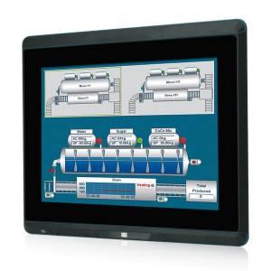 "UPC-F12CM-ULT3-i5/PC/4G Панельная рабочая станция с 12.1"" TFT LCD, проекционно-емкостныйй сенс. экран, Intel Core i5-6300U 2.4ГГц, 4GB DDR4 RAM, разъемы M12: Gb LAN, 2xCOM, 2xUSB 3.0, питание DC, отсек 1x2.5"" SATA HDD, M.2, 802.11 a/b/g/n/ac + Bluetooth v4.0, MiniPCIe, IP66"