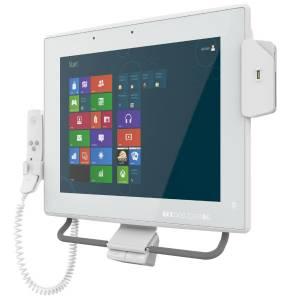 "POC-17C-ULT3-C/PC/4G Медицинская панельная рабочая станция 17"" LED, 350 нит, проекц.-емк. сенсорный экран, Intel Celeron 3955U 2.0ГГц, до 32Гб DDR4, 2x2.5""SATA3 HDD, mSATA, 1xCOM, 8xUSB, 2xGbE LAN, HDMI, 1xPCIe Mini, Wi-Fi, BT, 2МП камера, Audio, БП 19В DC 100-240В AC"