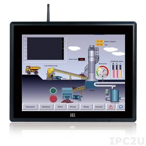"IOVU-15F-AD-R10 Безвентиляторный панельный компьютер 15"" TFT LCD, емкостный сенсорный экран, Freescale i.MX6 Cortex-A9 1.0ГГц, 2Гб DDR3, 8Гб Nand Flash, 2xUSB, 2xCOM, 1xGbE LAN PoE, 1xCAN 2.0, 4xGPIO, SD слот, Аудио, питание 12-36В DC"
