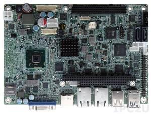 NANO-CV-N28001-R10 Процессорная плата EPIC SBC с Intel Atom N2800 1.86ГГц, DDR3, VGA/HDMI/Dual LVDS, 2xGbE, USB 3.0, mSATA, SATA 3Гбит/с, Audio