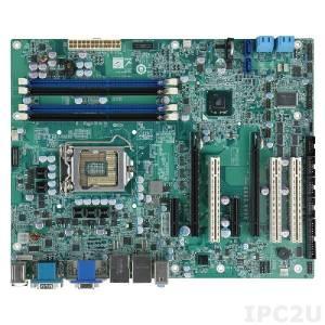 IMBA-C2060-R20 Процессорная плата ATX, процессоры Intel Xeon E3/Core i3/Celeron LGA1155, чипсет Intel C206, 240-pin DDR3 1333/1066МГц, 1xVGA, 1xDVI-D, 1xHDMI, 5xRS-232, 1xRS-422/485, 1xPS/2, 10xUSB 2.0, 2xUSB 3.0, 6xSATA, 2xPCIe x16, 2xPCIe x4, 3xPCI, LAN, Audio